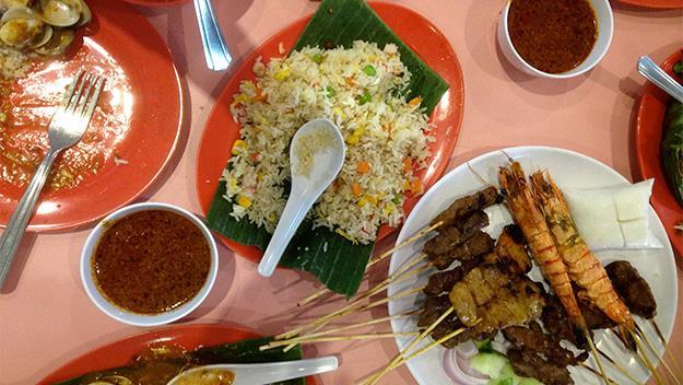 Local Singaporean food