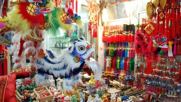 Dragons on display