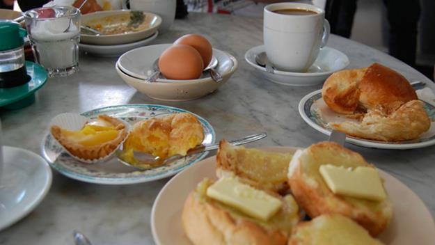 Breakfast in Singpore