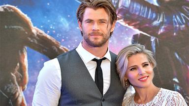 Chris Hemsworth with his adorable family