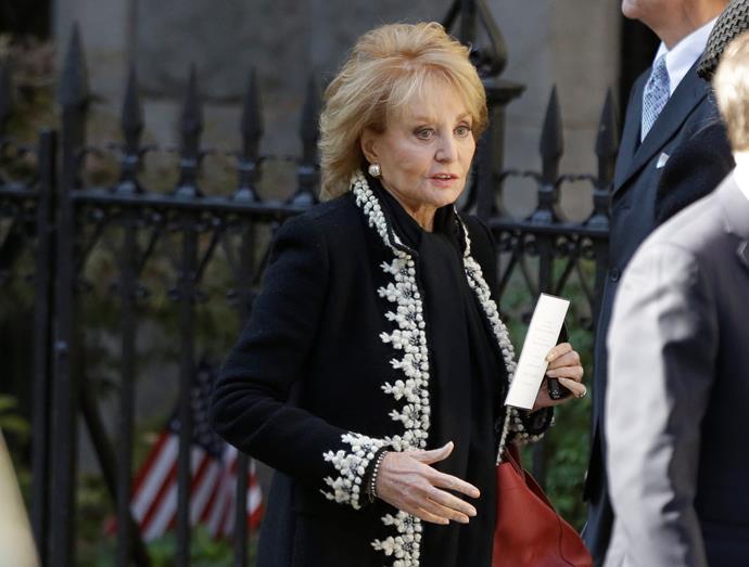 Barbara Walters. Picture: AP Photo/Frank Franklin II