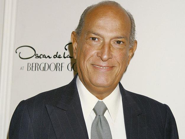 Fashion designer Oscar de la Renta died, aged 82, last month.