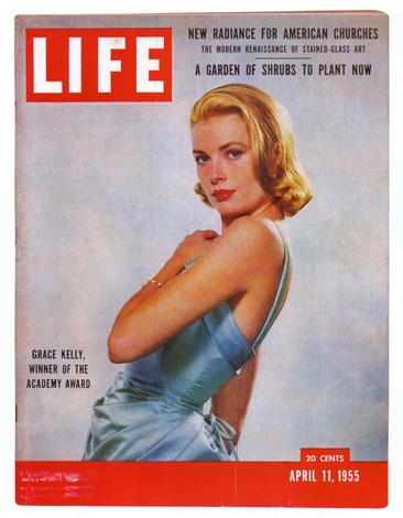 Cover du jour: Grace Kelly on the Cover LIFE Magazine in 1955. PHOTO: LIFE Magazine.