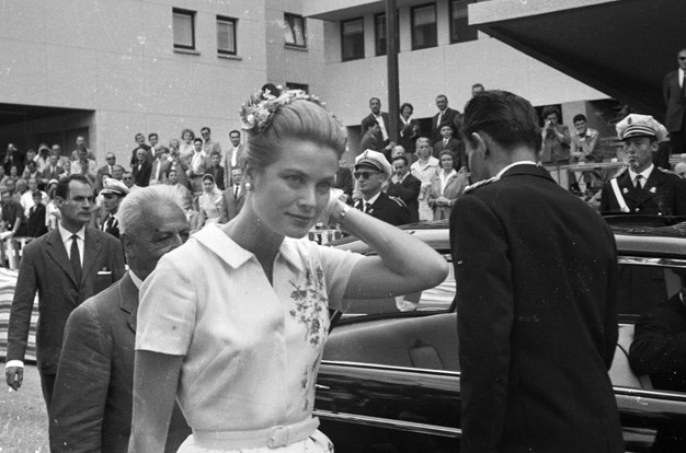 Princess Grace of Monaco circa 1960.
