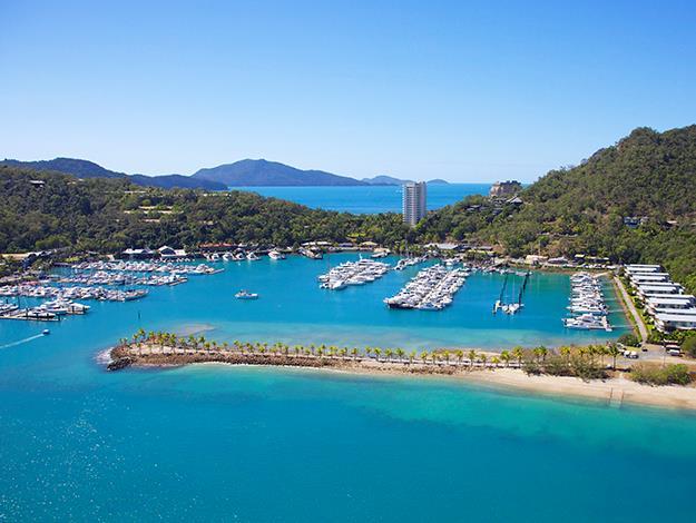 **Hamilton Island:** Hamilton Island has a range of accommodation options. A lovely mid-range choice at the [Palm Bungalows](http://www.hamiltonisland.com.au/accommodation/palm-bungalows-resort) from $350 per night.