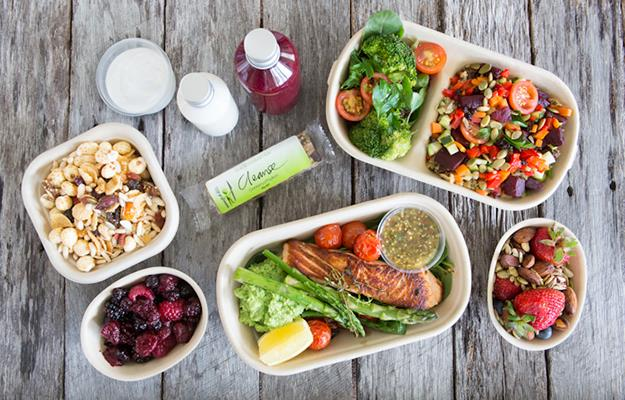 A typical day of scrumptious food on the EATFITFOOD menu.