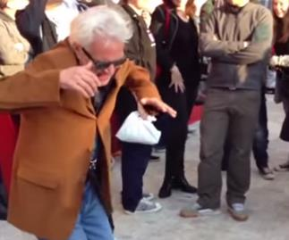 Senior Citizens prove they can dance in an online video