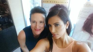 Kim Kardashian on how to take the perfect selfie