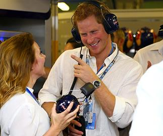 Prince Harry and Geri Halliwell