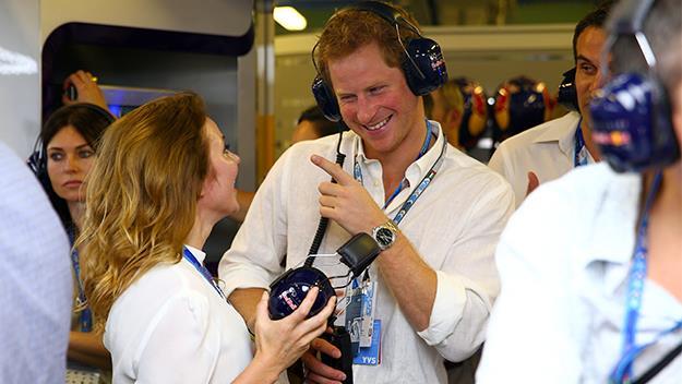 Prince Harry and Geri Halliwell