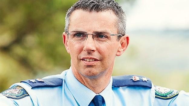 Superintendent Commander Daniel Sullivan