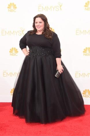 Melissa McCarthy at the 2014 Emmy Awards.