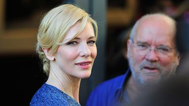 "Cate Blanchett: ""I get judged on the school run"""