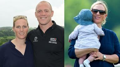 Zara Phillips and Mike Tindall hold christening for Mia attended by the Queen