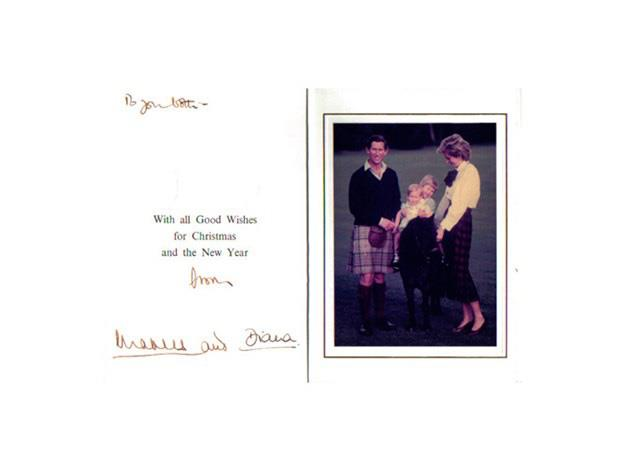 "Smiles all around for Prince Charles and Princess Diana's 1985 Christmas card with Prince William and [Prince Harry](https://www.nowtolove.com.au/royals/british-royal-family/prince-harry-fuels-meghan-markle-engagement-rumours-42620|target=""_blank"")."