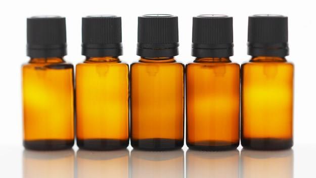 three essential oils