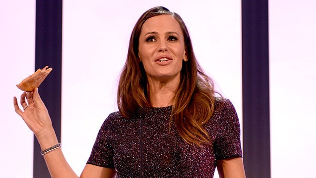 """Jennifer Garner """"I mean, the men in Hollywood event is every day — it's called Hollywood. Fifty-one per cent of the population should not have to have to schedule a special event to celebrate the fact that in an art that tells the story of what it means to be human and alive, we get to play a part."""""""