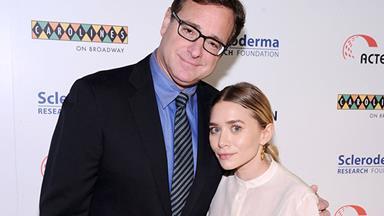 Ashley Olsen reunited with her Full House dad Bob Saget