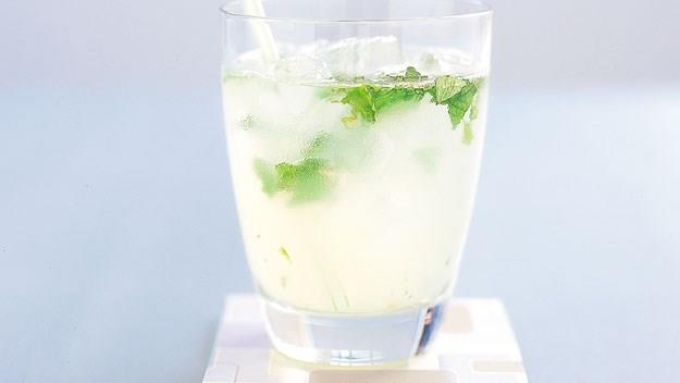 [Lime and mint spritzer.](http://www.aww.com.au/food/recipes/2009/11/lime-and-mint-spritzer) <br><br> Refreshing with a bite - this will go down well on a warm summers evening!