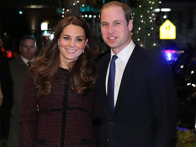 The Duke and Duchess posed for photographers just outside their hotel in Manhattan.