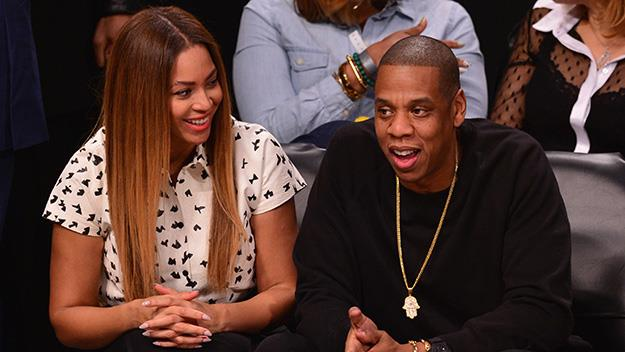 Beyoncé and Jay Z are often spotted having date night together at Nets games.