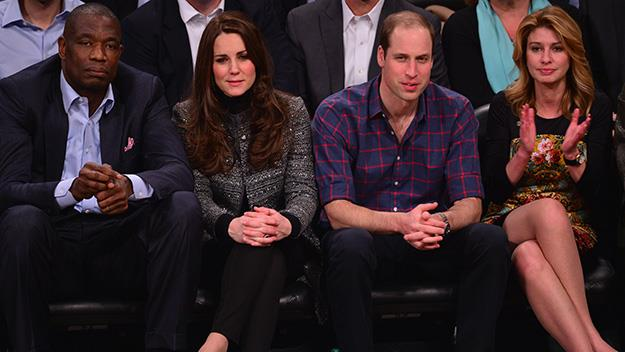 Kate and William are in town for a whirlwind visit.