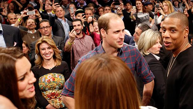 Prince William and Kate Middleton meet Beyonce and Jay-Z