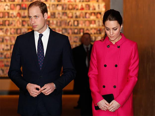 The Duke and Duchess pay their respects to the victims of 9/11.