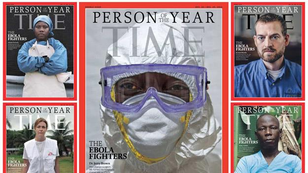 The famous cover of Time Magazine