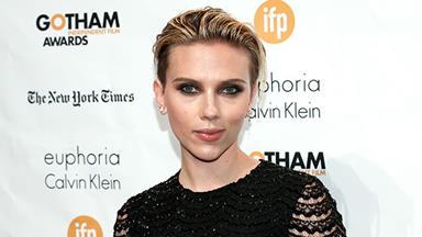 Scarlett Johansson calls motherhood 'wonderful and exhausting'