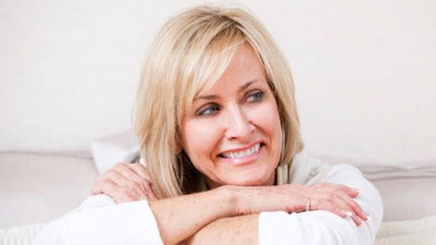 woman, early menopause, stock photo