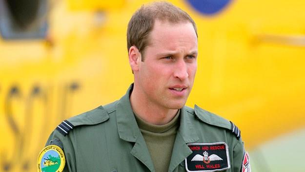 Prince William military uniform