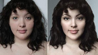 Plus-size blogger asks photoshoppers to make her beautiful