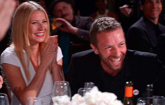 Gwyneth and Chris at a charity event just days before they announced their split.