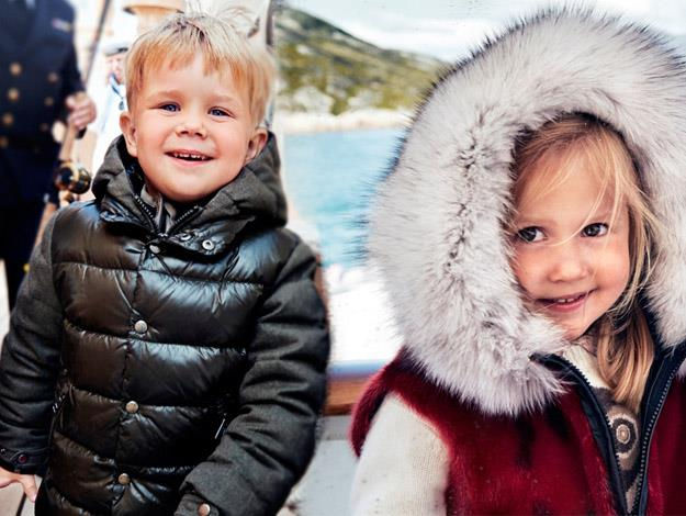 Prince Vincent and Princess Josephine turn four on January 8.