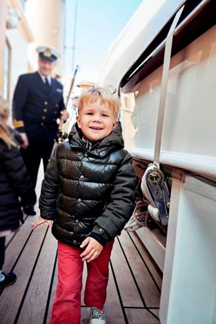 Prince Vincent was born 26 minutes before his sister, making him the fourth in line to the Danish throne, after his father, older brother Prince Christian and older sister, Princess Isabella.