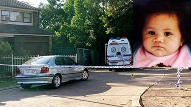 Baby girl killed in police car chase in Sydney's west