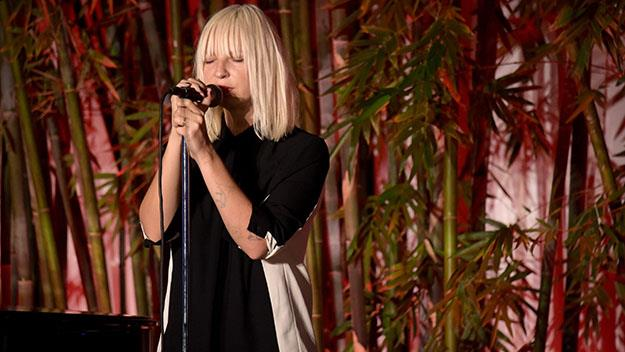 Sia has been nominated for for an original song, Opportunity, on the soundtrack for Annie.