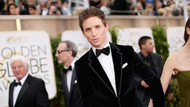 Eddie Redmayne talks school days with Prince William