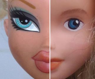 Bratz doll makeover