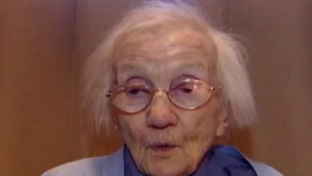 Jessie Gallan 109 years old. Image via Twitter.com/@trendolizer