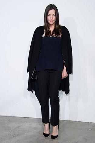 "Liv Tyler said once she had her child she didn't want to think about herself. ""So I stopped worrying about diets,"" she said."