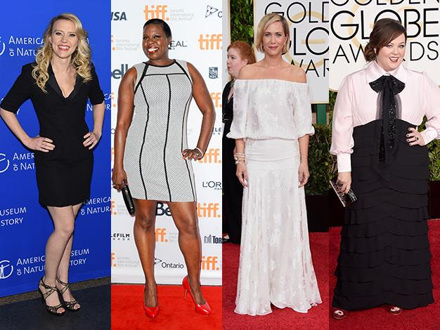 Kate McKinnon, Leslie Jones, Kristen Wiig and Melissa McCarthy have all been tipped to take the lead roles in the the all-female remake of Ghostbusters.