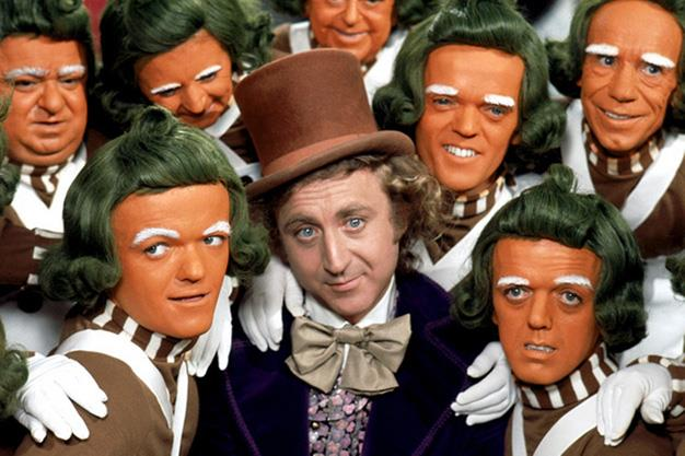 Willy Wonka and the Chocolate factory from 1971 where Wonka was played by Gene Wilder.