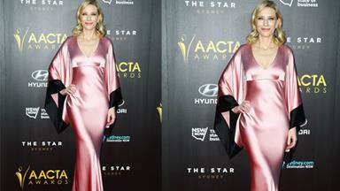 Cate Blanchett caught the bus to the AACTA awards