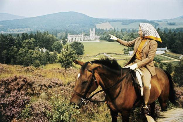 **HIGHLAND FLING** The Queen holidays at Balmoral Castle Estate, Scotland. You don't have to be a guest of the Queen to enjoy her favourite holiday home. Her Majesty spends August and September at her Highland retreat, but this leaves the summer months of June and July wide open for non-royal visitors. For $1300 a week, you can rent a cottage that sleeps five. And it's just a few hundred metres from the Queen's private domain. Once in residence, visitors can picnic on the Castle lawns, hire the Queen's ghillie for some trout fishing, play a round of golf on the estate's private nine-hole course or trek through the ancient Caledonian forests. Guided tours of the castle's ballroom (where the Queen has danced many a Highland fling) are available, as are garden visits where you can take a peek through the windows of Garden Cottage, one of Queen Victoria's favourite places to breakfast and write her diary. Don't expect crystal chandeliers and marble bathrooms in the cottages. Like the Queen's personal rooms, they are comfortably, but frugally furnished with a penchant for tartan and thistle pattern.