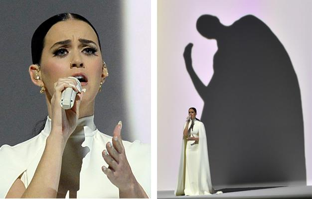 Katy Perry during her performance.
