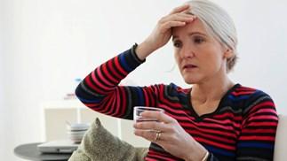 Mature women headache
