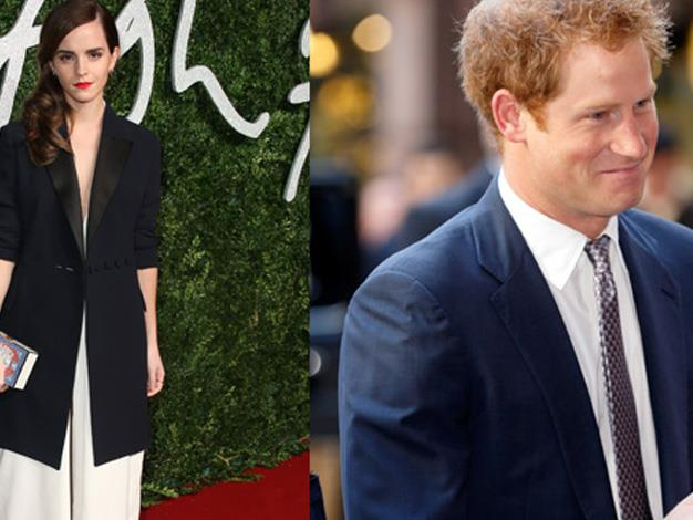 Emma Watson and Prince Harry, a love story that we fervently wished to be true.
