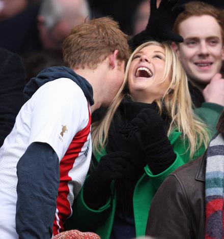 Prince Harry with his former long-time love, Chelsy Davy.